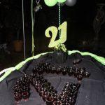 21st Birthday Photoshoot welcoming drinks