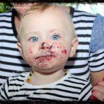 Covered in Cake Birthday Photoshoot