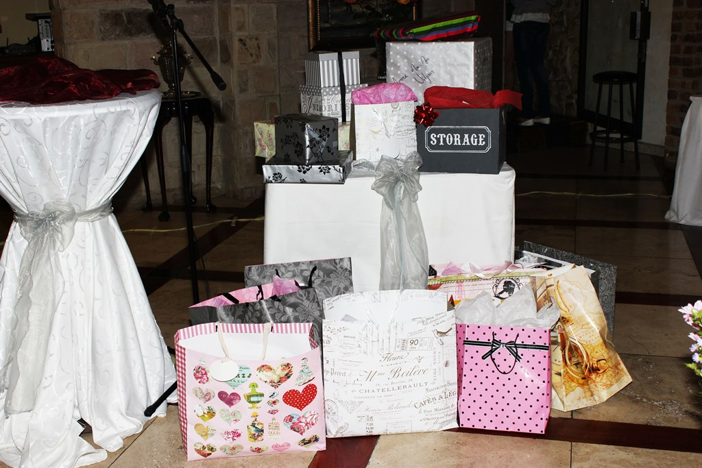 Present for Bridal Shower Event Photography