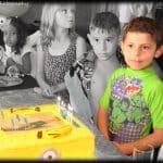 Cutting Cake Birthday Photoshoot