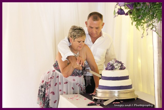 Purple Cake Wedding Photography | Photoshoots Pretoria