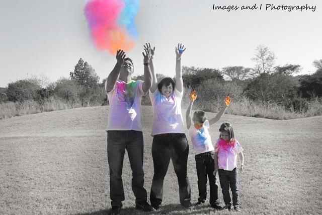 Fun Colour Family Photoshoot Ideas