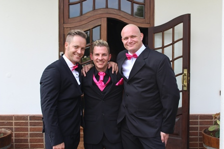 Pink Groom Wedding Photography | Photoshoots Pretoria