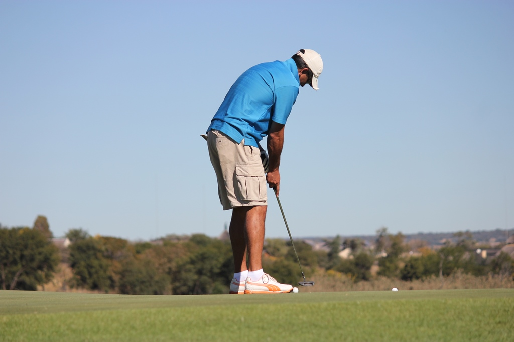 Putting Golf Event Photography