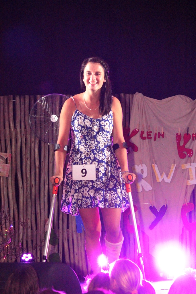 Model on Crutches Event Photography