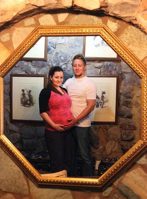 Reflection Maternity Photoshoot Ideas