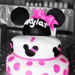 Mini Mouse Cake Birthday Photoshoot