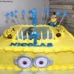 Minion Cake Birthday Photoshoot