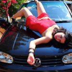 Car Modeling Portrait Photography
