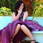Purple Dress Matric Photography