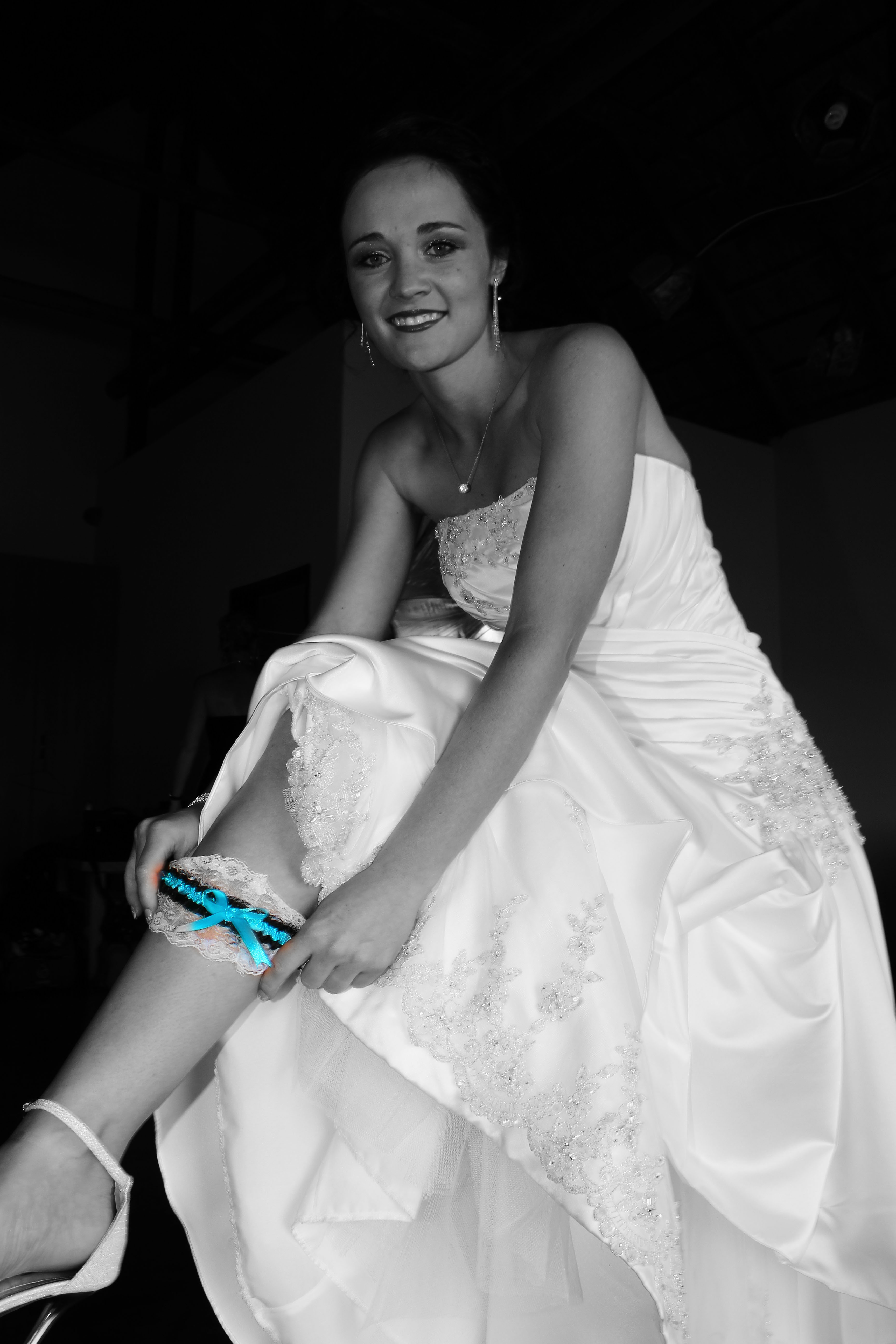 Wearing Garter Wedding Photography | Photoshoots Pretoria