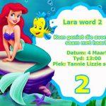 Mermaid Invite Graphic Design