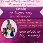 Women in Dialog Invite Graphic Design